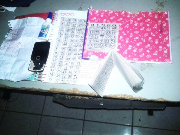Em São Francisco do Maranhão, Polícia conduz à delegacia cinco suspeitos de fraudar bingos