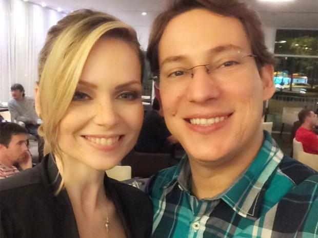 Bianca Toledo e Felipe G. Heiderich se casaram em 2014 (Foto: Reprodução/Facebook)