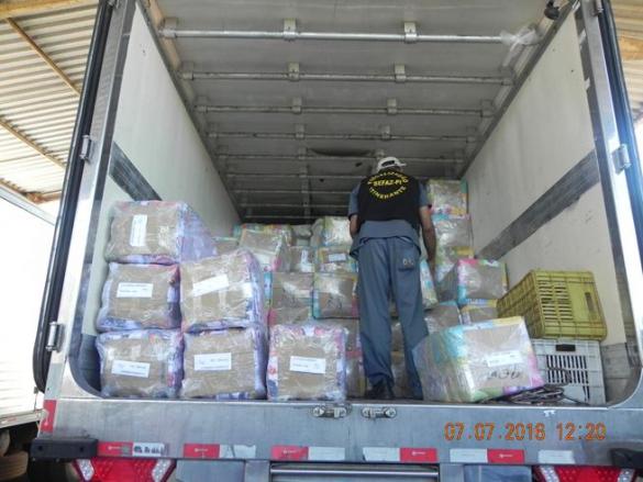 Sefaz descobre mercadorias sem nota fiscal em Teresina (Foto:Ascom Sefaz)