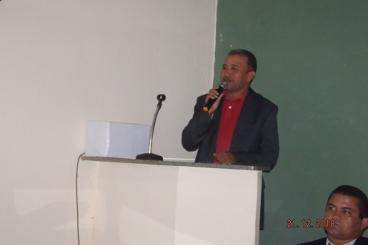Vereador Lindomar Oliveira PSD, presidente da Câmara Municipal de Tanque do Piauí