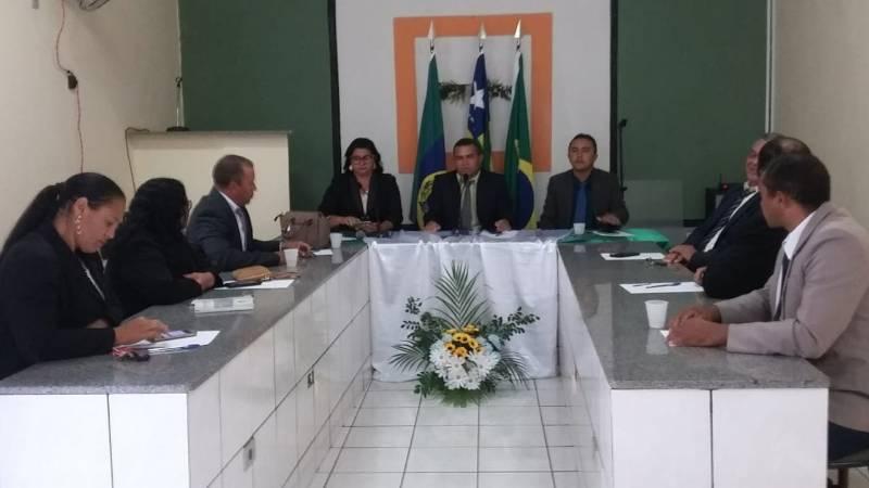 Novo presidente da Câmara toma posse em Tanque do Piauí