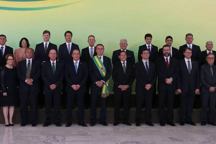 Veja os principais momentos da posse de Jair Bolsonaro